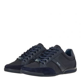 Saturn Lowp Mx Trainers - Dark Blue