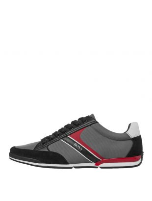 BOSS Saturn Low Trainers | 50407672 066 Open Grey