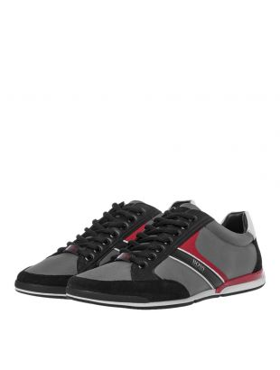 Saturn Low Trainers – Open Grey