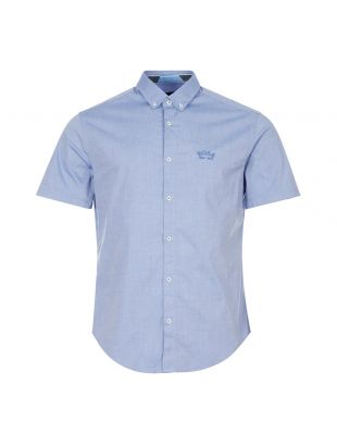 Boss Short Sleeve Shirt | 50431516 423 blue | Aphrodite 1994