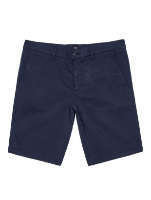 boss athleisure shorts liem4-5 50410981 410 navy
