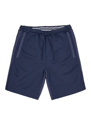 boss athleisure shorts headlo 50410285 410 navy