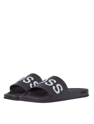 Sliders Logo - Black / White