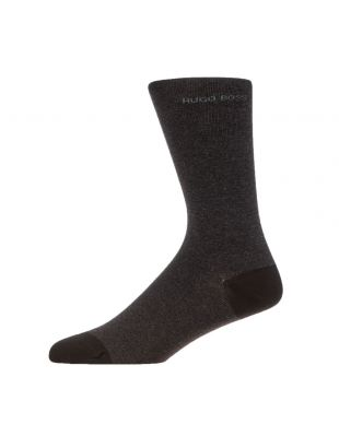 2 Pack Socks – Charcoal / Black