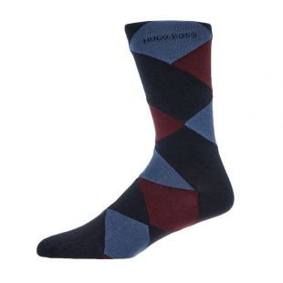 Boss 2Pk Socks 50414710|401 In Navy At Aphrodite Clothing