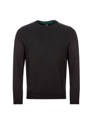 boss athleisure remast jumper 50416972 001 black