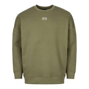 BOSS Athleisure Sweatshirt 50413129 305 Green