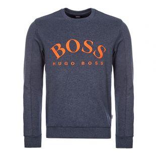 boss athleisure sweatshirt salbo 50410278 487 open blue