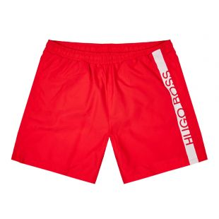 BOSS Bodywear Dolphin Swim Shorts 50407595 623 Red