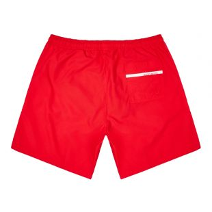Bodywear Dolphin Swim Shorts - Red
