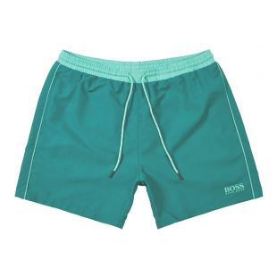 BOSS Bodywear Starfish Swim Shorts | 50408104 302 Green
