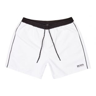 BOSS Bodywear Swim Shorts 50408104 107 White