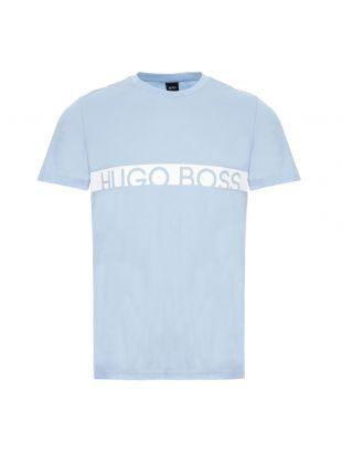 boss bodywear t-shirt rn 50407600 454 pastel blue