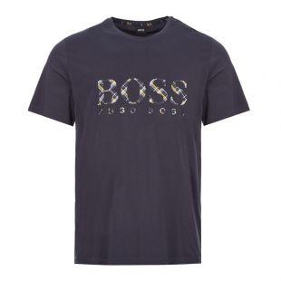 boss bodywear t-shirt 50423192 403 dark navy