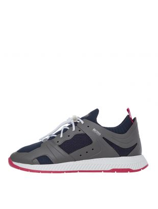boss titanium runn kn trainers 50432770 069 navy