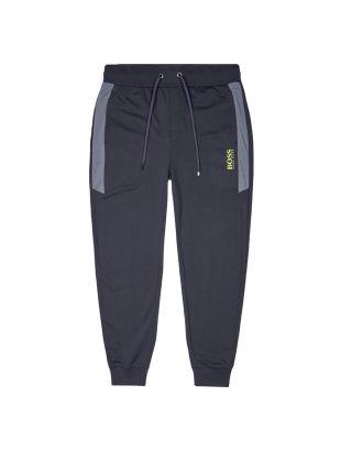 boss bodywear joggers tracksuit 50431105 400 black
