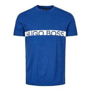 Boss Bodywear T-Shirt 50407600|422 In Blue At Aphrodite Clothing