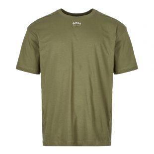 BOSS Athleisure T-Shirt Talboa 50413866 305 Green