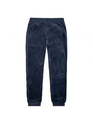 Bodywear Sweatpants Velour - Dark Blue