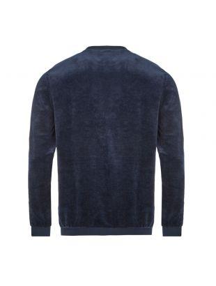 Bodywear Sweatshirt Velour - Dark Blue