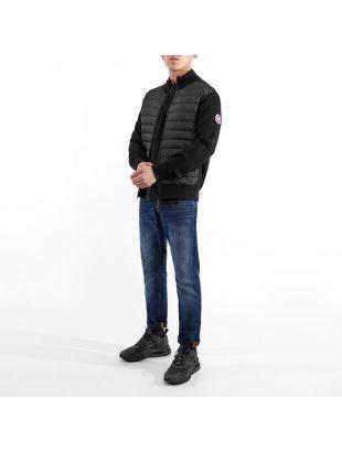 Hybridge Knit Jacket - Black
