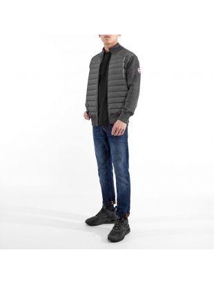 Hybridge Knit Jacket - Iron Grey
