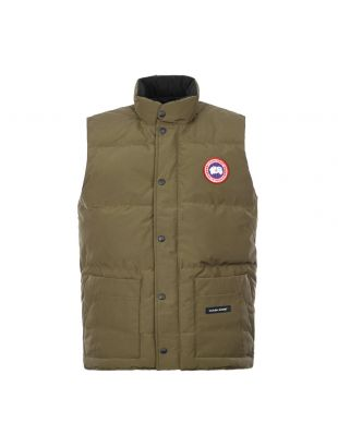 Canada Goose Freestyle Crew Vest 4154M 49 Military Green