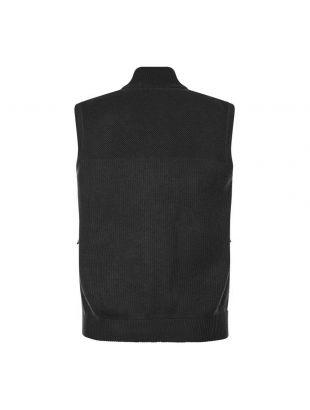 Hybridge Knitted Gilet - Black