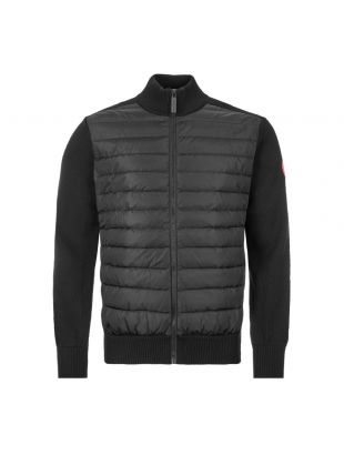 Hybridge Knit Jacket - Black