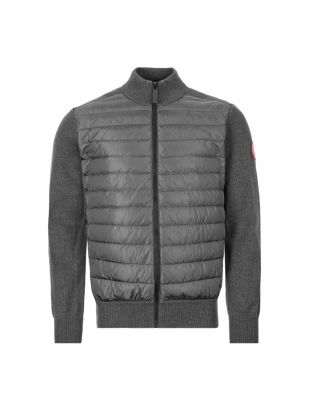Canada Goose Hybridge Knit Jacket 6830M 699 Iron Grey