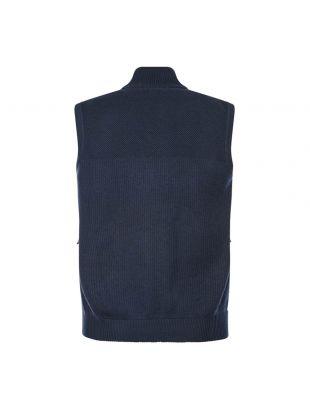 Hybridge Knitted Gilet - Navy