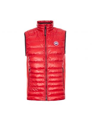Canada Goose Hybridge Lite Vest Tech Down | 2715M 11 Red | Aphrodite