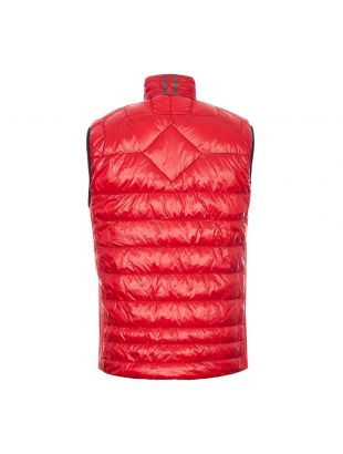 Hybridge Lite Vest Tech Down - Red
