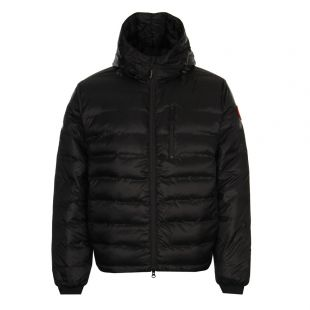 Canada Goose Lodge Hoody 5055M 702 in Black