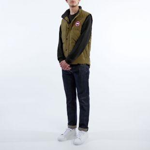 Garson Vest – Military Green