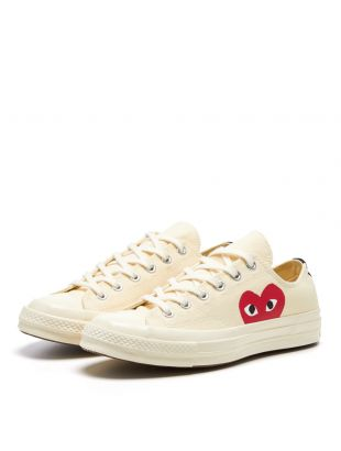 Low Top Converse - White