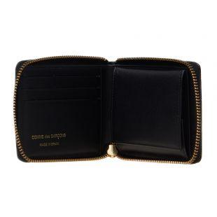 Wallet Polka Dot - Black