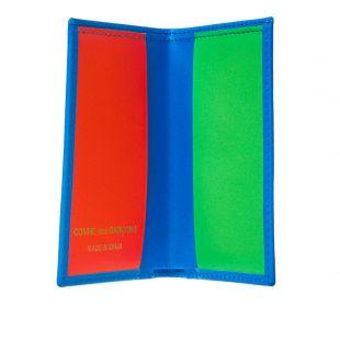 Super Fluo Card Wallet - Blue