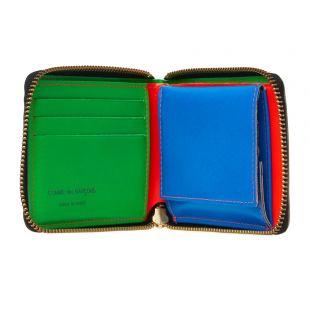 Super Fluo Zip Wallet - Orange