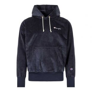 Champion Corduroy Sweatshirt 213691|BS501|NNY In Navy At Aphrodite Clothing