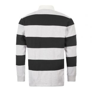 Rugby Shirt - Grey / Black