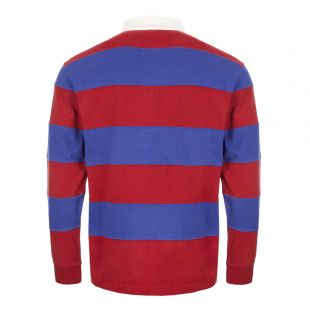 Rugby Shirt - Red / Blue