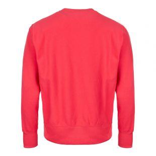 Sweatshirt Script Logo - Pink