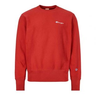 Champion Sweatshirt 213603|RS517|RDD In Red At Aphrodite Clothing