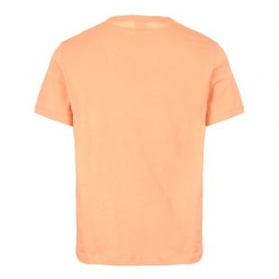T-Shirt Script Logo - Coral
