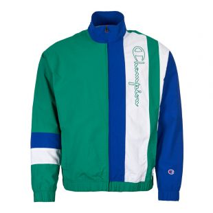 Champion Track Jacket 213050 GS055 in Blue / Green