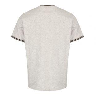 T-Shirt Striped Ringer - Grey