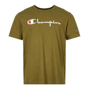 Logo T-Shirt- Green