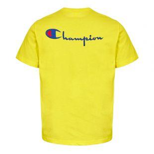 T-Shirt Back Logo - Yellow