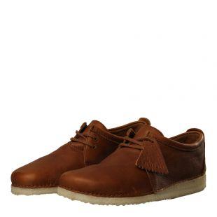 Ashton Shoes - Cola Leather